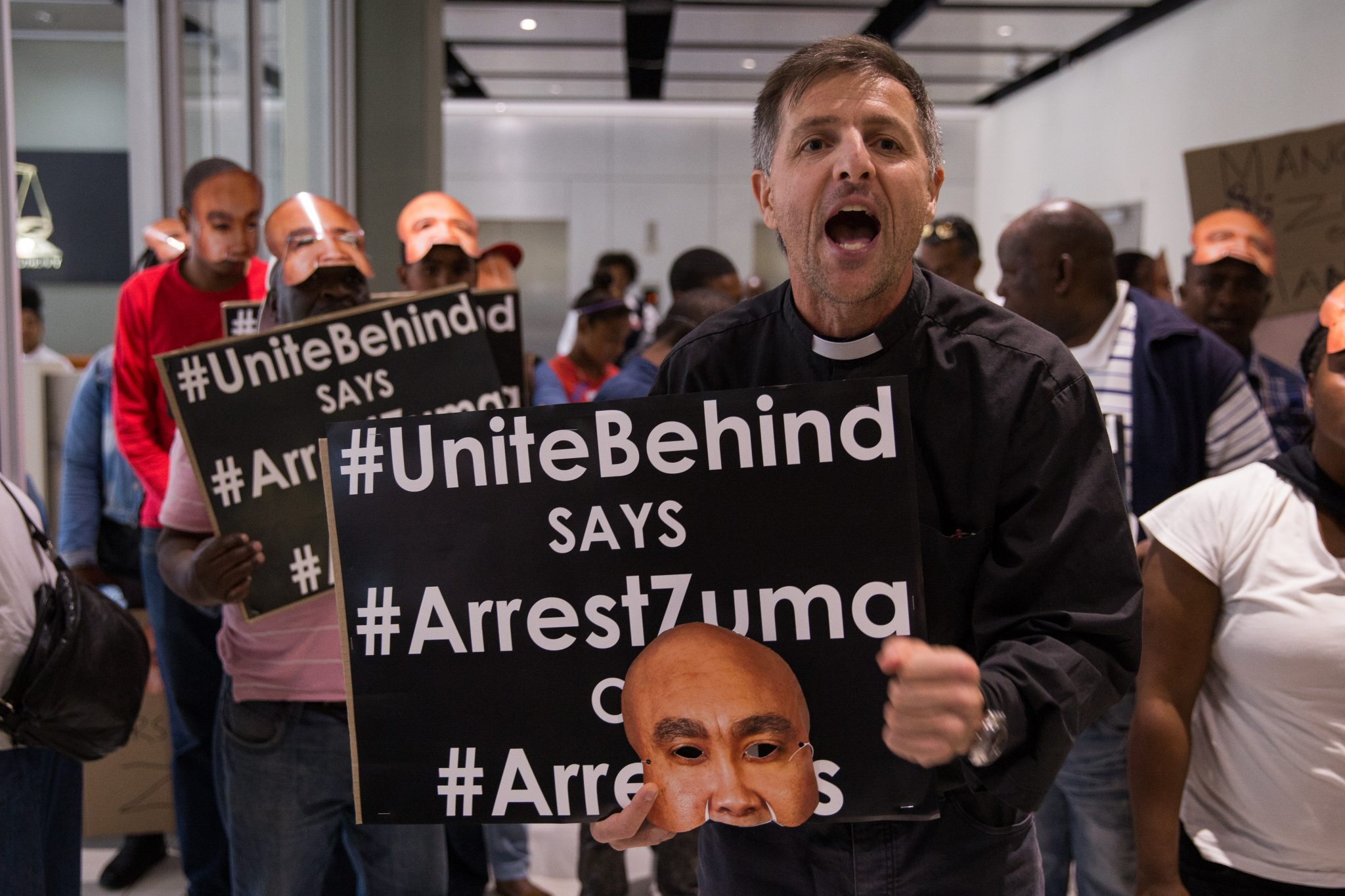 #UniteBehind says #ArrestZuma or #ArrestUs